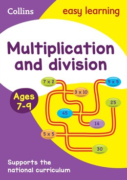 Book Collins Easy Learning Ks2 - Multiplication And Division Ages 7-9: New Edition by Collins Easy Learning