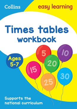 Book Times Tables Workbook Ages 5-7: New Edition (Collins Easy Learning KS1) by Collins Easy Learning