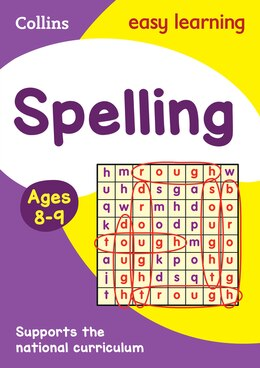 Book Spelling Ages 8-9: New Edition (Collins Easy Learning KS2) by Collins Easy Learning