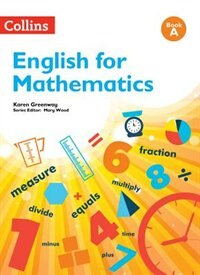 Book English for Mathematics: Book A by Karen Greenway