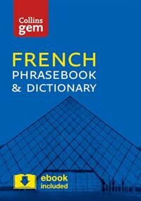 Book Collins French Phrasebook And Dictionary Gem Edition: Essential Phrases And Words In A Mini, Travel… by Collins Dictionaries