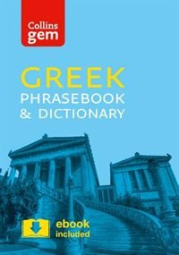 Book Collins Greek Phrasebook and Dictionary by Collins Dictionaries