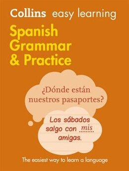 Book Easy Learning Spanish Grammar and Practice (Collins Easy Learning Spanish) by Collins Dictionaries