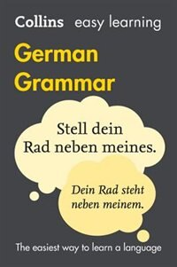 Book Easy Learning German Grammar (Collins Easy Learning German) by Collins Dictionaries