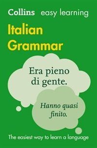 Book Easy Learning Italian Grammar (Collins Easy Learning Italian) by Collins Dictionaries