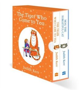 Book The Tiger Who Came to Tea / Mog the Forgetful Cat by Judith Kerr