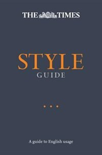 Book The Times Style Guide by Ian Brunskill