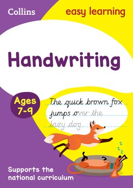 Book Handwriting Ages 7-9: New edition (Collins Easy Learning KS2) by Collins Easy Learning