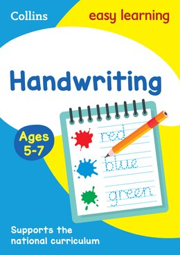Book Handwriting Ages 5-7 (Collins Easy Learning KS1) by Collins Easy Learning