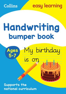Book Handwriting Bumper Book Ages 5-7 (Collins Easy Learning KS1) by Collins Easy Learning