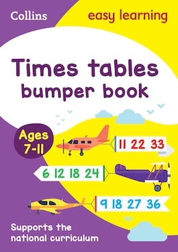 Book Times Tables Bumper Book Ages 7-11 (Collins Easy Learning KS2) by Collins Easy Learning