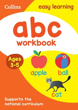 Book ABC Workbook Ages 3-5: New Edition (Collins Easy Learning Preschool) by Collins Easy Learning