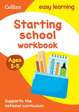 Book Starting School Workbook Ages 3-5: New Edition (Collins Easy Learning Preschool) by Collins Easy Learning