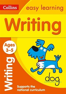 Book Writing Ages 3-5: New Edition (Collins Easy Learning Preschool) by Collins Easy Learning