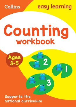 Book Counting Workbook Ages 3-5: New Edition (Collins Easy Learning Preschool) by Collins Easy Learning
