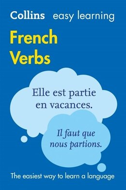 Book Easy Learning French Verbs (Collins Easy Learning French) by Collins Dictionaries