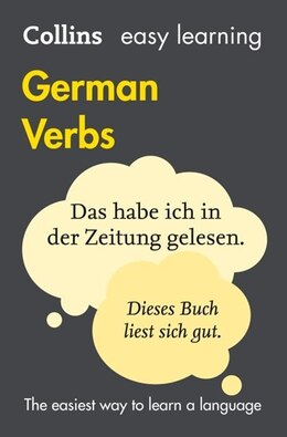Book Easy Learning German Verbs (Collins Easy Learning German) by Collins Dictionaries