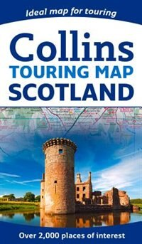 Book Scotland Touring Map by Collins Maps