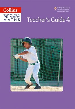 Book Collins International Primary Maths - Teacher's Guide 4 by Paul Wrangle