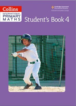 Book Collins International Primary Maths - Student's Book 4 by Paul Wrangles