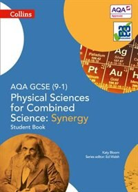 Book Aqa Gcse Physical Sciences For Combined Science: Synergy 9-1 Student Book (gcse Science 9-1) by Katy Bloom