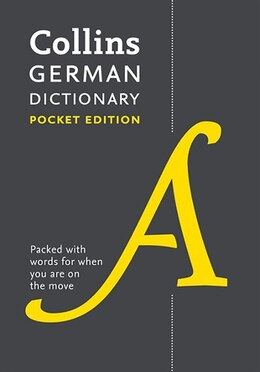 Book Collins German Dictionary Pocket Edition: 40,000 Words And Phrases In A Portable Format by Collins Dictionaries