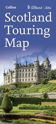 Book Visit Scotland Touring Map by Collins Maps