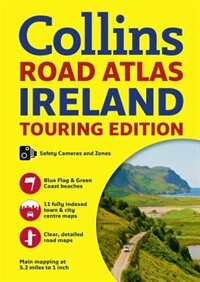 Book Collins Ireland Road Atlas: Touring Edition by Collins Maps