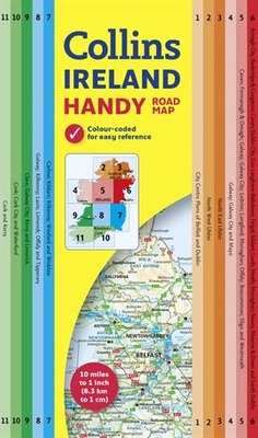 Book Collins Handy Map Ireland by Collins Maps
