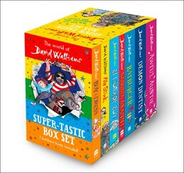 Book The World of David Walliams: Super-Tastic Box Set by David Walliams