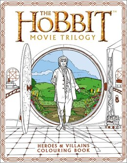 Book The Hobbit Movie Trilogy Colouring Book by Warner Brothers