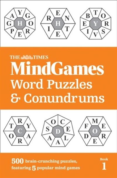 The Times Mindgames Word Puzzles And Conundrums Book 1 by The Times Mind Games