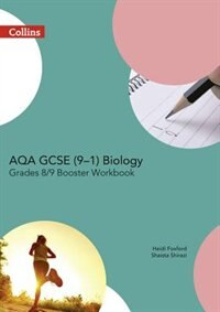 Book Aqa Gcse Biology 9-1 Grade 8/9 Booster Workbook (gcse Science 9-1) by Harpercollins