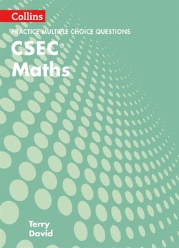 Book Csec Maths Multiple Choice Practice (collins Csec Maths) by Terry David