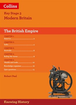 Book Ks3 History The Making Of The British Empire (knowing History) by Robert Peal