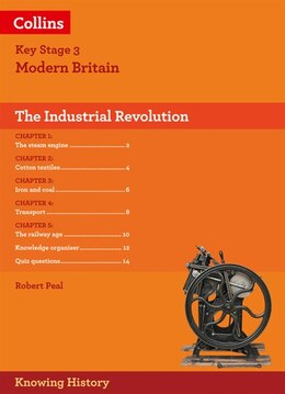 Book Ks3 History The Industrial Revolution (knowing History) by Robert Peal