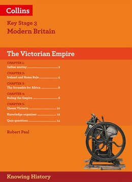 Book Ks3 History The Victorian Empire (knowing History) by Robert Peal