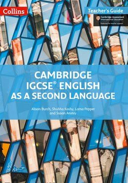 Book Cambridge International Examinations - Cambridge Igcse® English As A Second Language Teacher Guide by Alison Burch