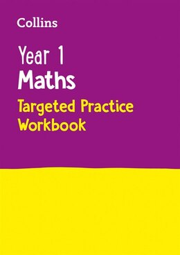 Book Year 1 Maths Targeted Practice Workbook (collins Ks1 Revision And Practice - New Curriculum) by Collins Ks1
