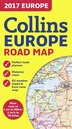 2017 Collins Map Of Europe by Collins Maps
