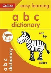 Book Abc Dictionary Ages 3-4 (collins Easy Learning Preschool) by Collins Easy Learning