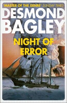 Book Night Of Error by Desmond Bagley
