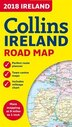 2018 Collins Map Of Ireland