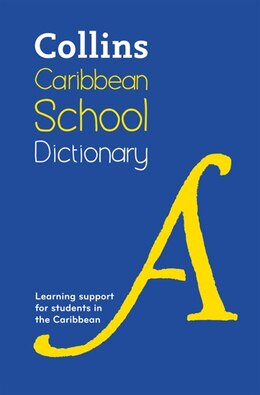 Book Collins Caribbean School Dictionary by Harpercollins
