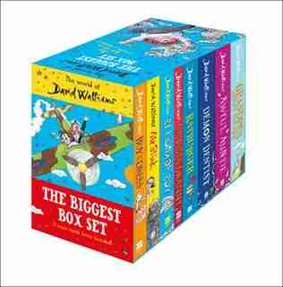 The World Of David Walliams: The Biggest Box Set by David Walliams