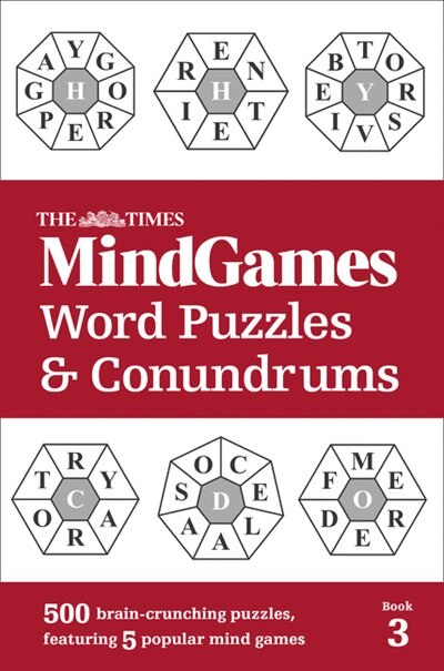 The Times Mindgames Word Puzzles And Conundrums Book 3 by The Times Mind Games