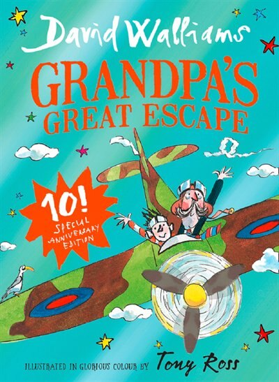 Grandpa's Great Escape: Limited Gift Edition Of David Walliams' Bestselling Children's Book by David Walliams