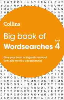 Big Book Of Wordsearches Book 4: 300 Themed Wordsearches by Collins Puzzles