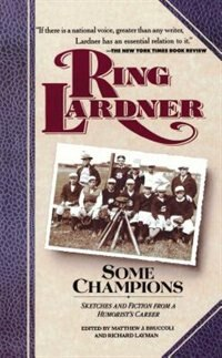 Book Some Champions by Ring Lardner
