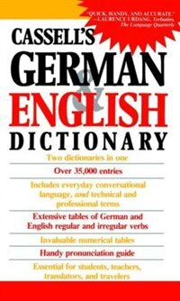 Book Cassell's German & English Dictionary by Charlotte Dixon